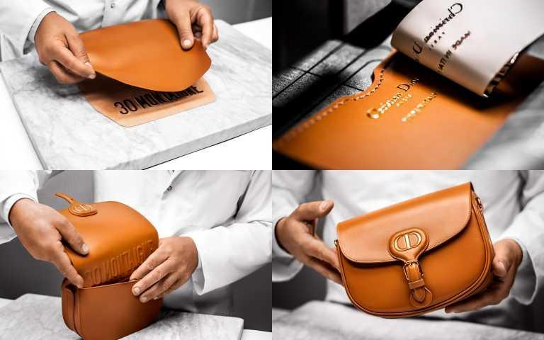 Dior Bobby 駝色光滑小牛皮小型肩背包/99,000元(圖/品牌提供)