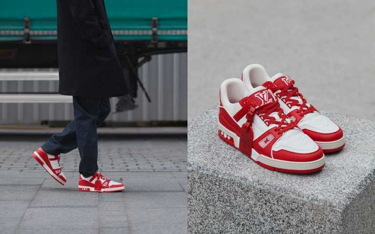 LV Trainer Sneaker/39,300元(圖/品牌提供)
