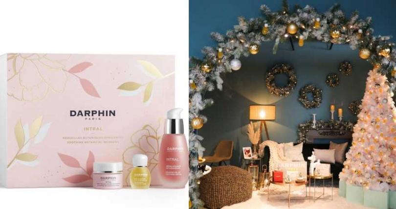 DARPHIN朵法巴黎聖誕點燈2020全效舒緩節慶禮盒/2,500元(圖/品牌提供)