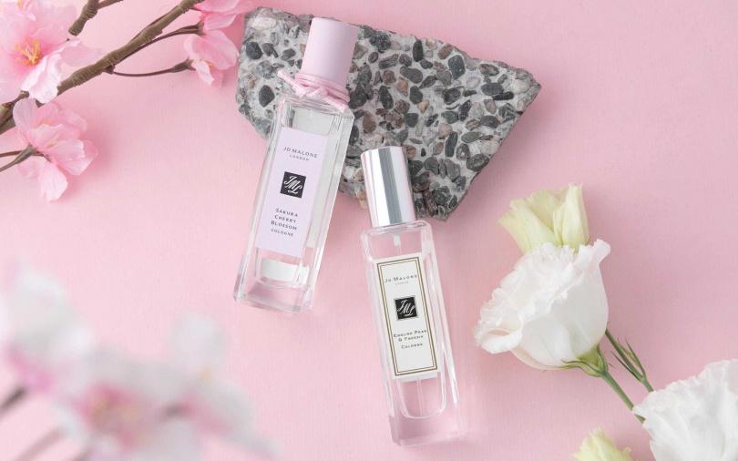 品牌更特別推薦可以把這款櫻花香水和「英國梨與小蒼蘭香水」進行香氛糅合,更能層次堆疊出新鮮果香的乾淨純粹質感。(圖/品牌提供)