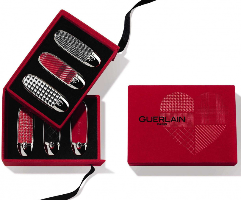 法國空運來台、質感超好的嬌蘭紅寶之吻高訂紅絲絨唇膏禮盒,完全就是精品等級!(圖/品牌提供)