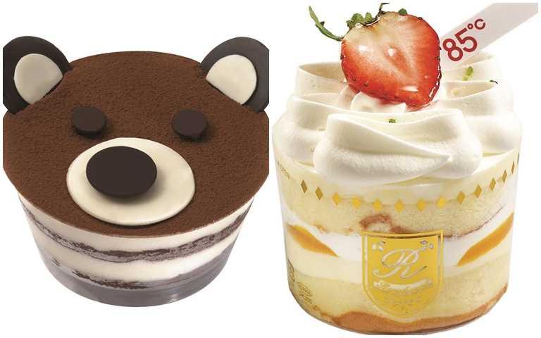 貴族熊(圖左)與草莓芒果提娜。