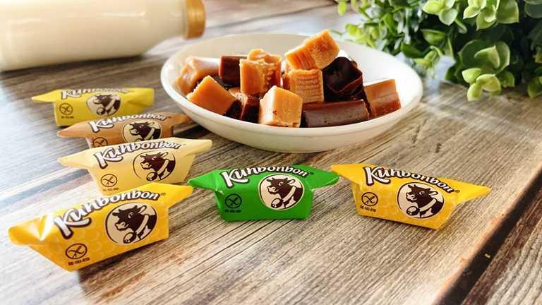 「歪國零食嘴」祭出德國Kuhbonbon手工牛奶糖買一送一。