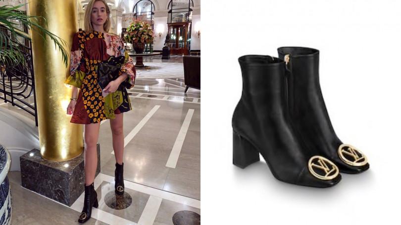 Louis Vuitton Madeleine短靴/50,000元(圖/翻攝自IG、品牌提供)