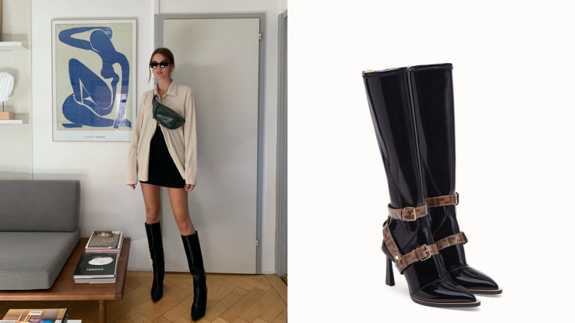 FENDI Boots長靴/約 56,300元(圖/翻攝自IG、品牌提供)