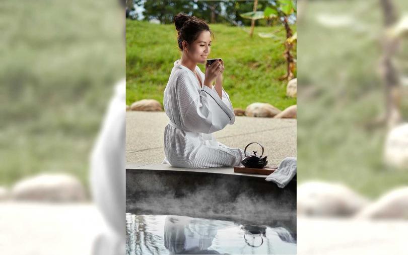 日式風格的風呂浴場。(圖/宜蘭綠舞國際觀光飯店提供)