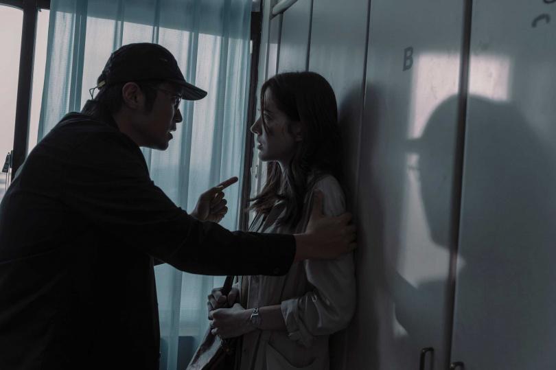 張孝全、許瑋甯在新戲中有許多對手戲。(圖/Netflix提供)