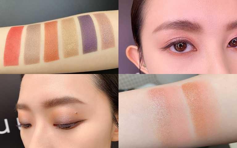 雖然是6種不同質地,但膚觸都相當舒適柔滑,想怎麼任意疊擦都沒問題。(圖/吳雅鈴攝影)