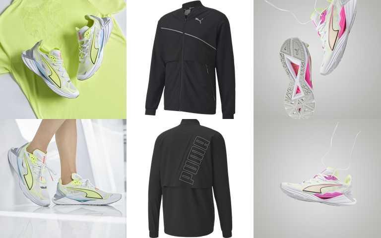 全新PUMA UltraRide超輕羽量級專業跑鞋,建議售價NT3,280。(圖/PUMA)