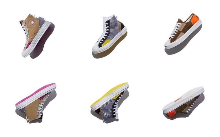 Converse Mix & Match系列鞋款建議售價為NT2,280~NT2,980,即日起於指定店點販售。(圖/CONVERSE)