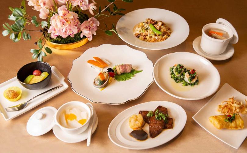 台菜饗宴料理。(圖/台北萬豪酒店提供)