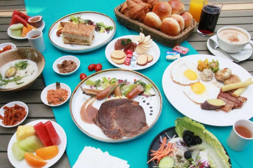 Ripple無國界料理餐廳早餐。(圖/HotelsCombined.com.tw提供)