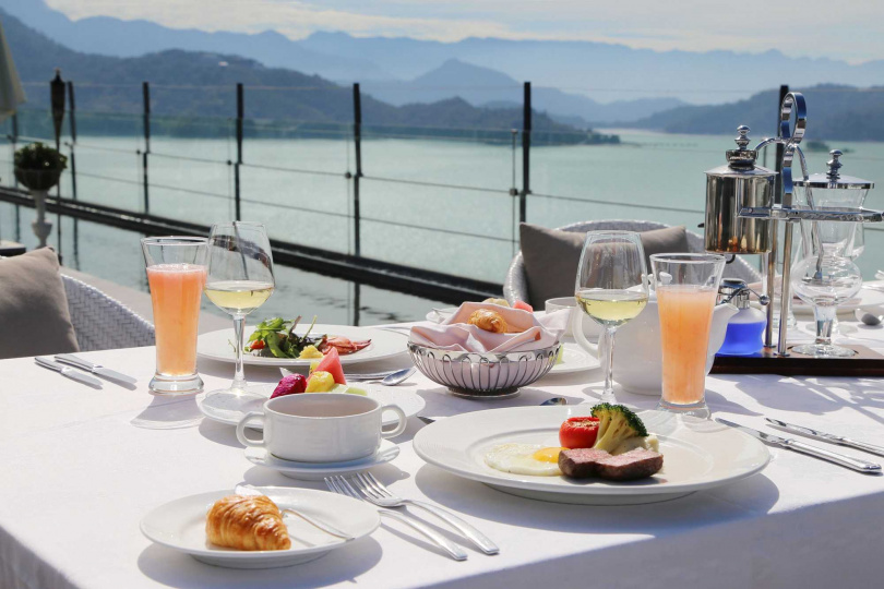 丹彤自助餐廳早餐。(圖/HotelsCombined.com.tw提供)