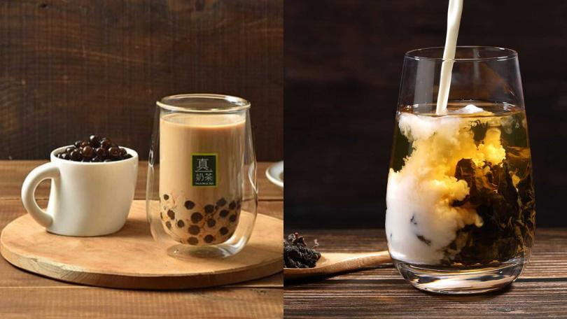 「歐可茶葉」除了有頂級烏龍拿鐵之外,也有沖泡式的珍珠奶茶可購入。