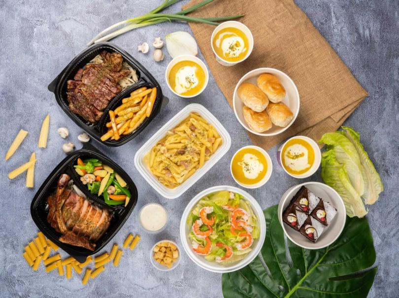 星亞自助餐廳推出的「宅食分享餐」份量豐富且價格實惠。