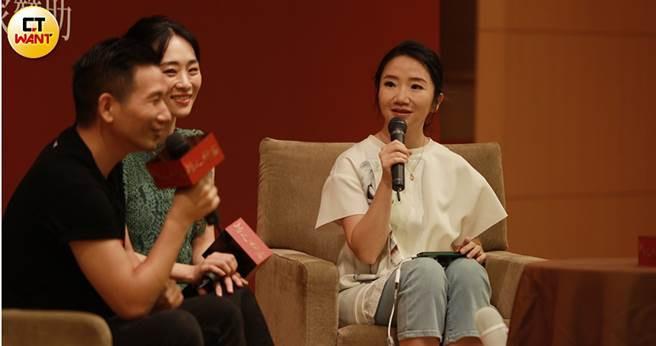 陶晶瑩在座談會上大方分享演藝圈曾被潛規則的經驗。(圖/岸上影像有限公司提供)