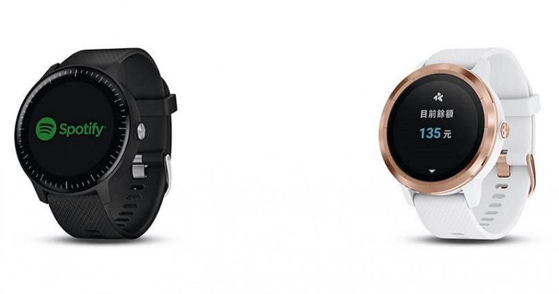 Vivoactive 3 music音樂智慧腕錶錶徑:43.4mm定價:9,990元 Vivoactive 3智慧腕錶錶徑:43.4mm定價:8,990元