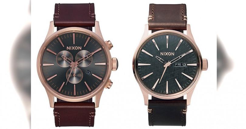 The Sentry Chrono Leather錶徑:42mm定價:10,900元 The Sentry Leather錶徑:42mm定價:5,900元