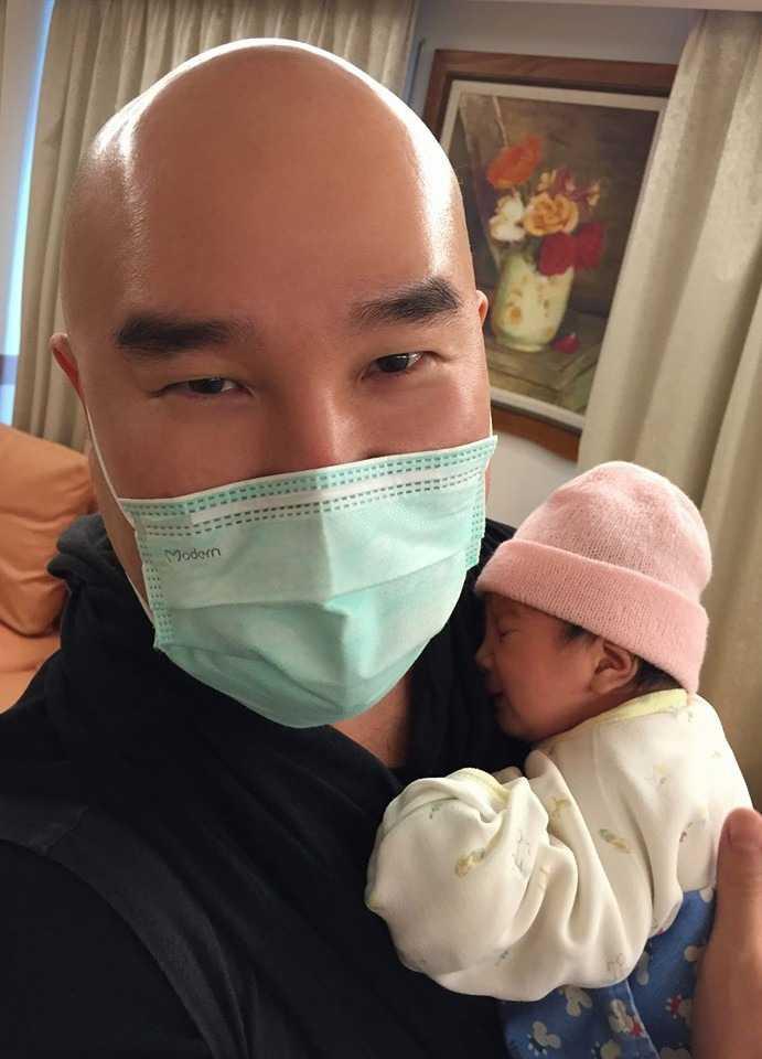 聽聞劉真昨晚驟逝,黃子佼希望辛龍能為孩子加油努力。(圖/翻攝自辛龍臉書)