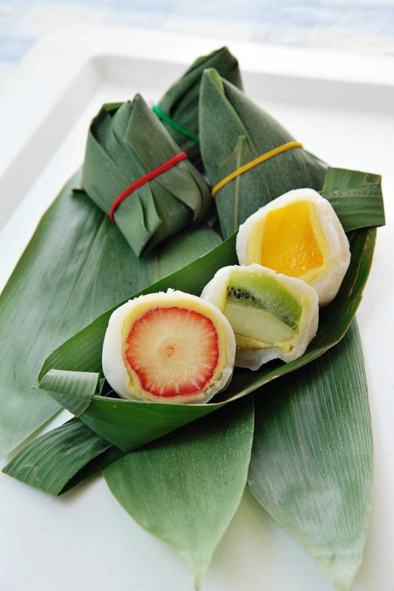 咖芳工作室—水果冰Q粽。(圖/Global Mall提供)