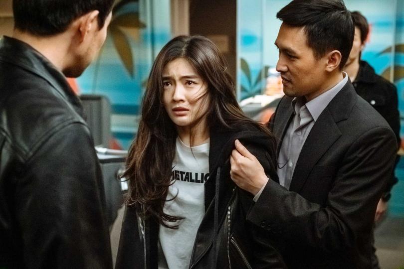 李先彬在片中飾演身份不明的神祕乘客。(圖/采昌國際多媒體提供)