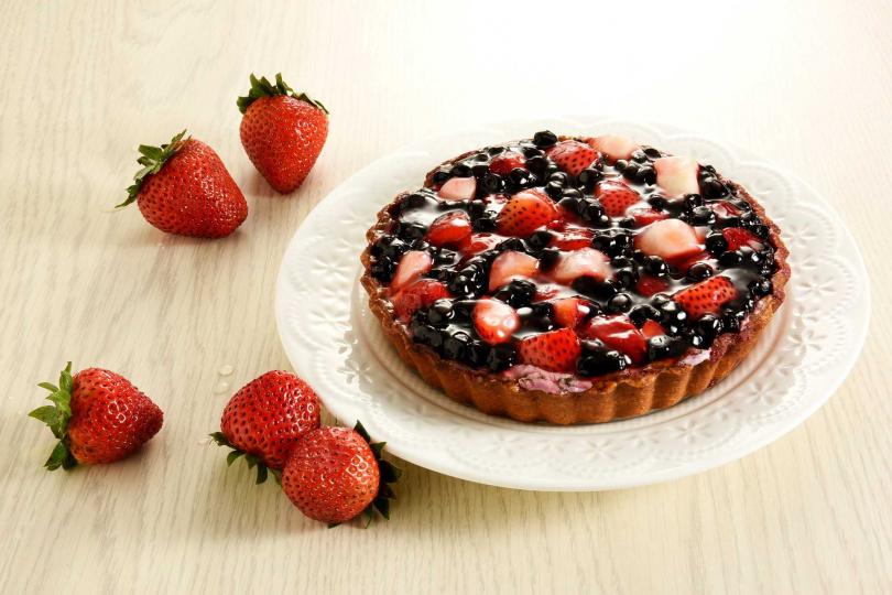 野莓私語派。(圖/亞尼克提供)