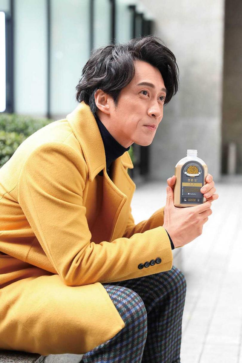 陳漢典認為衛生和維持品質,是飲料店永續經營的先決條件。(圖/彭子桓攝)