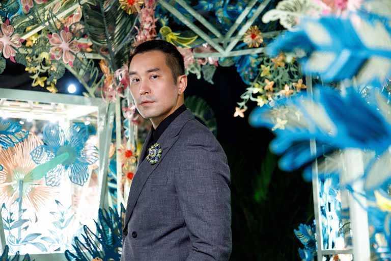 魅力男神張孝全,帥氣出席TIFFANY & CO.「2021 Jean Schlumberger」高級珠寶展。(圖╱TIFFANY & CO.提供)