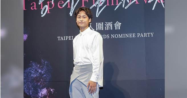 大鶴不僅入圍新人獎,也入圍了最佳男配角獎,備受粉絲矚目。(攝影/焦正德)