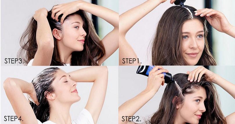 只需要10分鐘、簡單四步驟就能達到深層清潔、保養髮肌的效果。(圖/sisleyparisth IG)