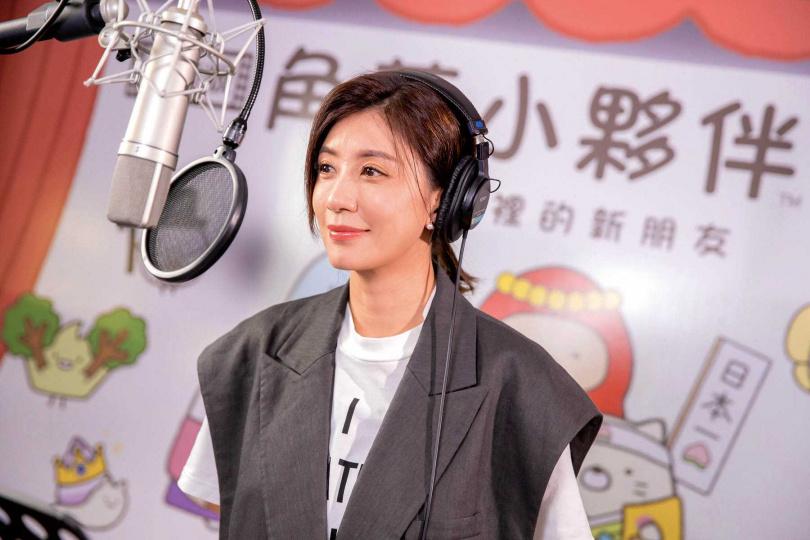 《角落小夥伴電影版:魔法繪本裡的新朋友》中文版的旁白,請來賈靜雯獻聲。(圖/威視提供)