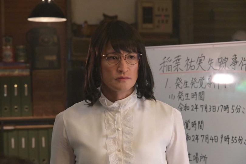《男扮女裝家政婦》第四季主題曲,由松岡昌宏化身的「女主角」三田園薰創作。(圖/翻攝《男扮女裝家政婦》官網)