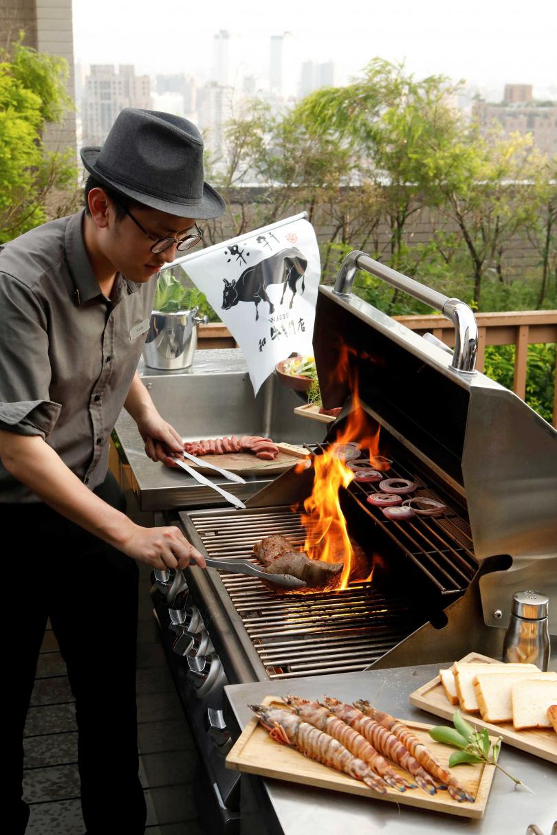 燒肉管家到你家 頂級和牛烤肉派對。(圖/樂軒和牛專門店提供)