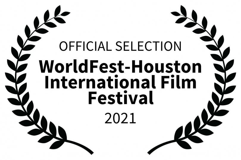 2021休士頓影展金獎標章