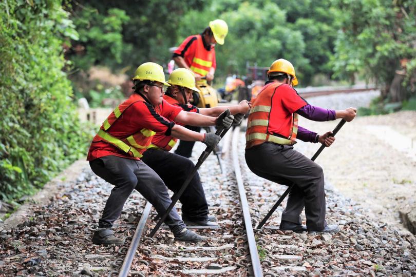 安全第一,守護林鐵是工務人員的使命