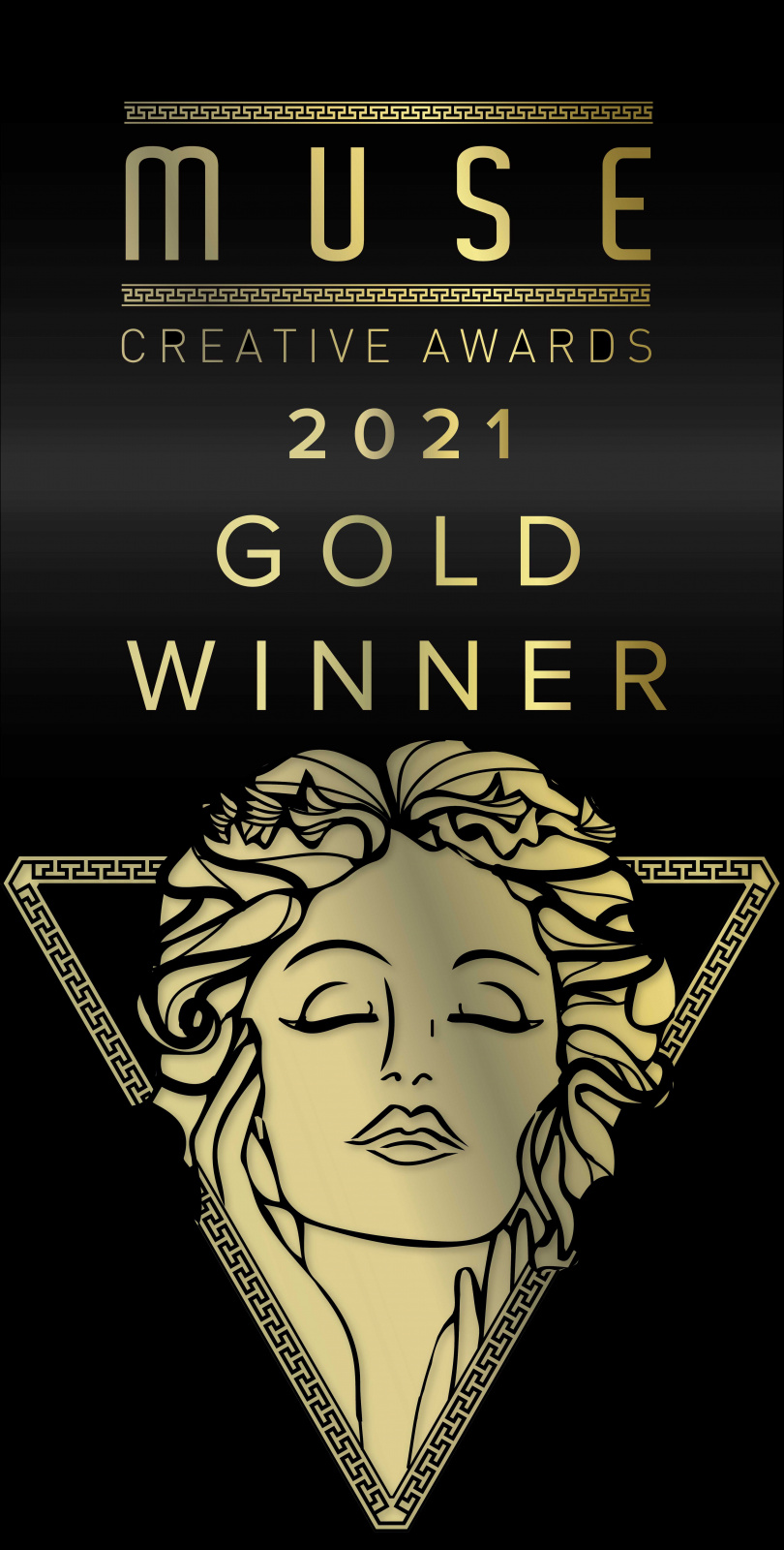 2021謬思創意獎金獎標章