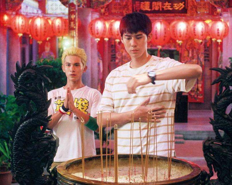 李玉璽在劇中,和林暉閔有個還沒達成的兒時約定。(圖/東森電視提供)