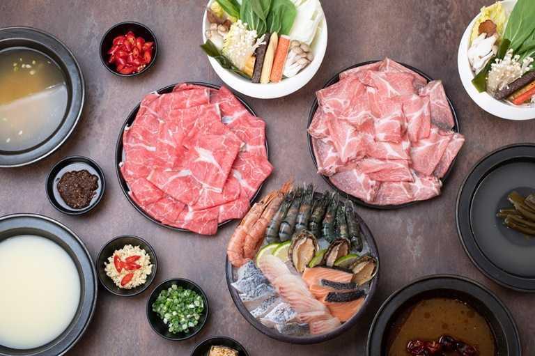 「海味雙人生鮮組合」共有8種海鮮可以享用。