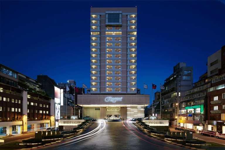 台北晶華酒店將旗下最具特色的餐飲與住宿作結合。