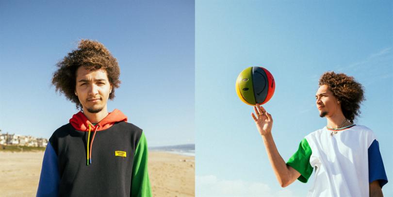 由左至右依序為PUMA Chinatown Market系列長厚連帽T恤 2,980元、Chinatown Market系列短袖T恤 1,680元。(圖片/PUMA提供)