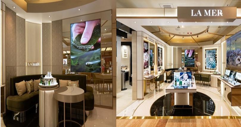超級奢華的最新海洋拉娜首座G5概念店就在南西新光三越(圖/品牌提供)