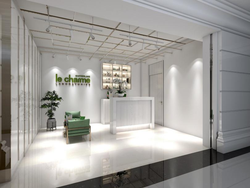 le charme形象概念店在台北文華東方酒店的文華精品開幕