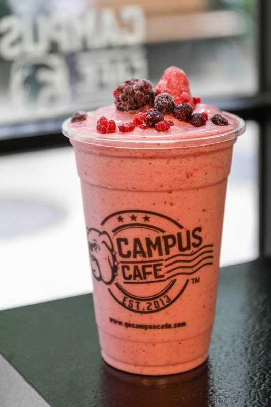 野莓冰沙 160元(圖/焦正德攝)