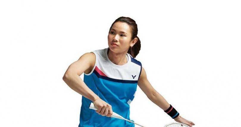 羽球女將戴資穎獲得  「最受信賴體育名人」。(圖/Victot提供)