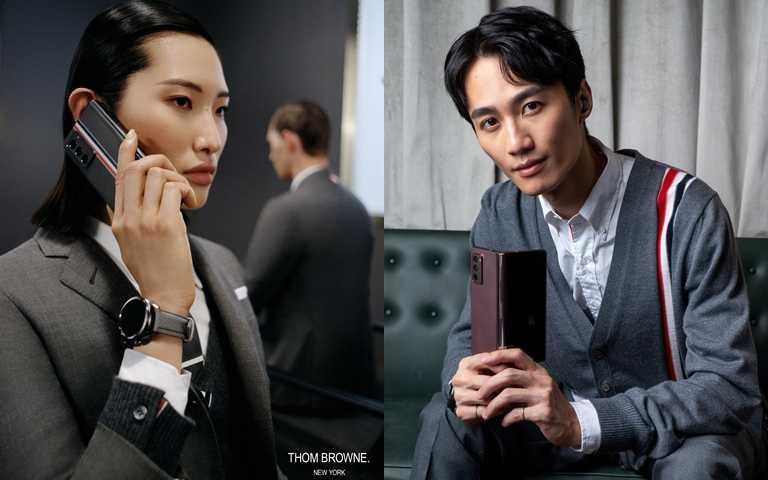歌手李英宏親自演譯限量機的時尚搭配。(圖/Thom Brwone、ART HAUS)
