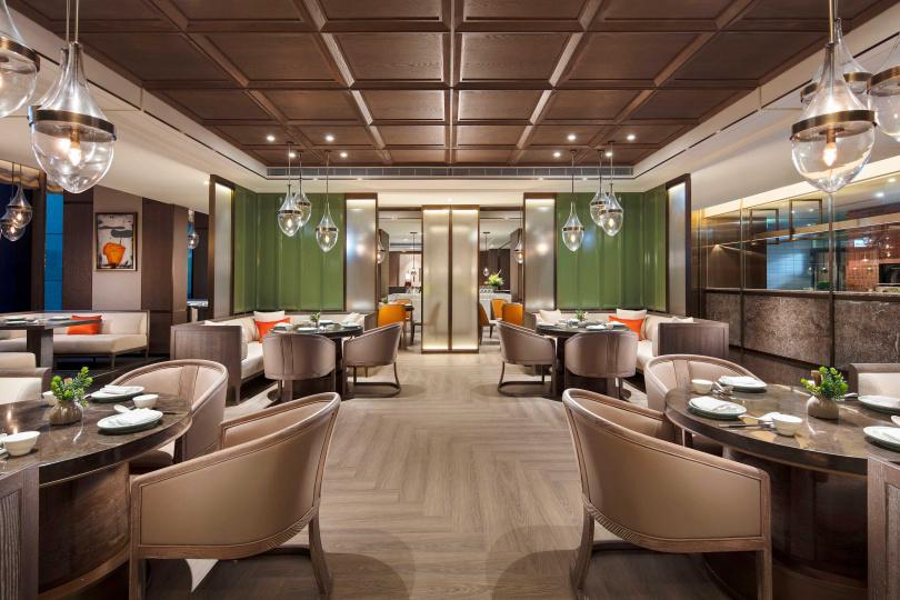 台北新板希爾頓的「青雅中餐廳」推出平日午餐港點吃到飽專案。(圖/台北新板希爾頓)