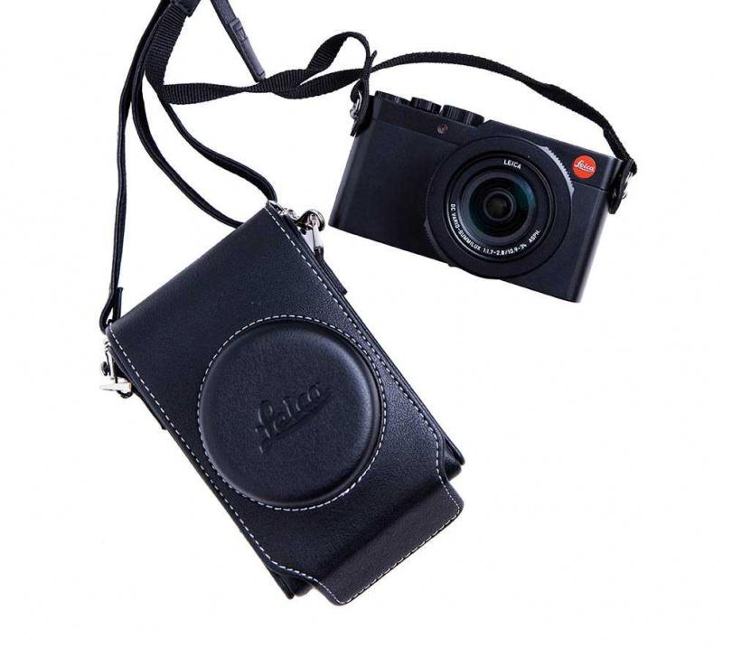 Leica 相機/40,000元。大學念攝影的陳芳語,以往都是用單眼相機,為了免於更換鏡頭,特別購入Leica相機,平常有空就多多拍照。(圖/莊立人攝)