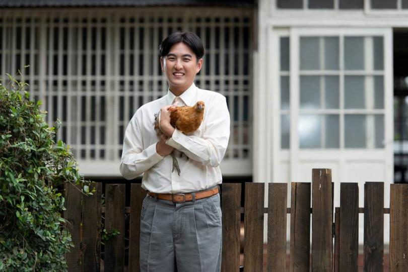 黃靖倫在三立《天之蕉子》飾演自閉症患者,演技受好評。(圖/三立提供)