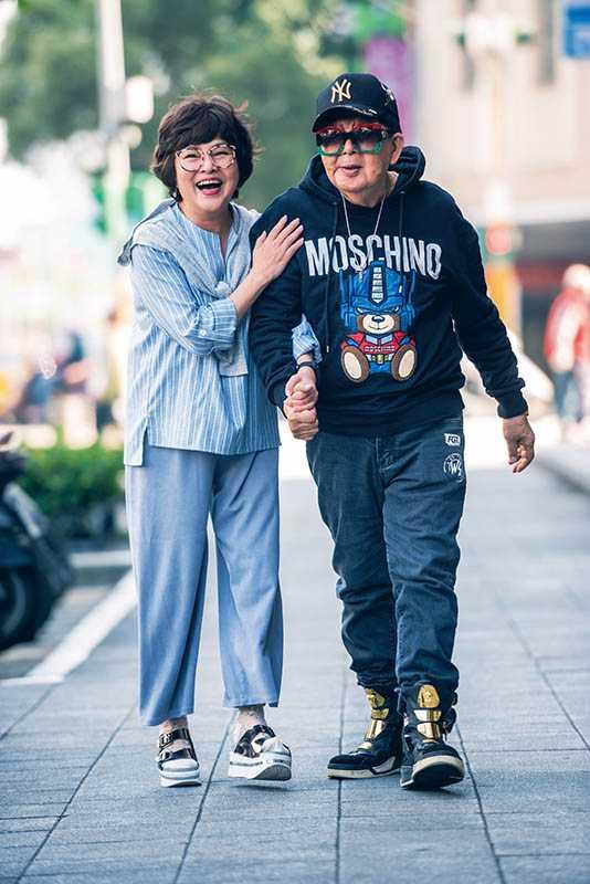 和林松義情如兄妹的紀寶如,一路陪著他走過低潮。(圖/張祐銘攝)