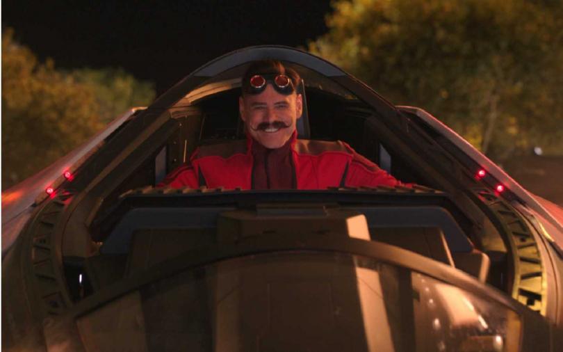 金凱瑞在電影中飾演蛋頭博士。(圖/UIP提供)
